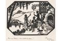 Silueta  vystřižená , Život na Rýně , (1930)