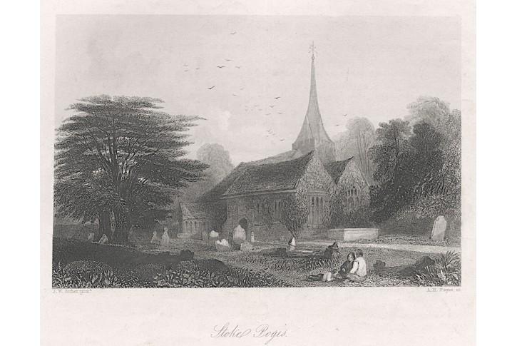 Stoke Pogis, oceloryt, (1850)