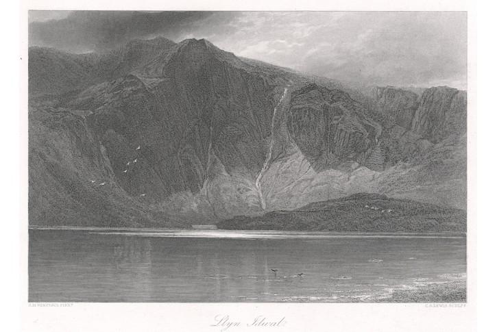 Llyn Idival Walles, oceloryt, (1860)