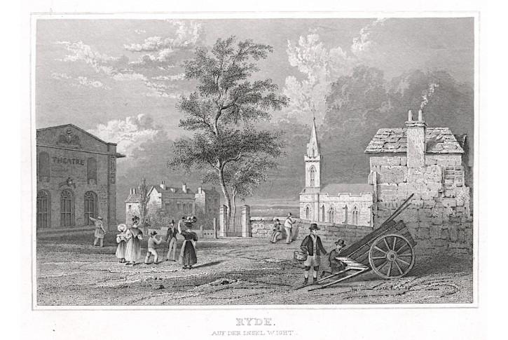 Ryde Wight oceloryt, 1840