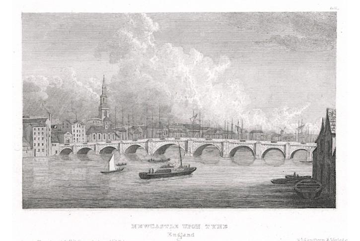 Newcastle, Meyer, oceloryt, (1850)