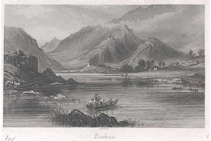 Llanberis, oceloryt, (1840)