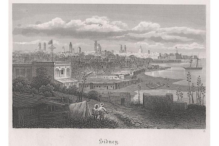 Sydney, Jugendfreund, oceloryt, 1865