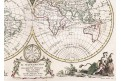 Zatta A.: Mappamondo, mědiryt, 1799