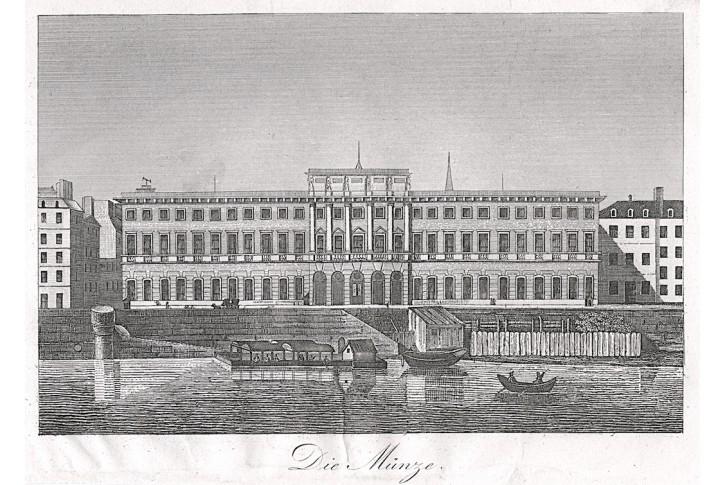 London Royal Mint, mědiryt, (1825)