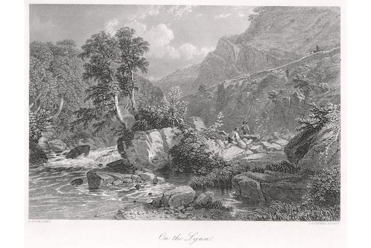 On the Lynn, oceloryt, (1860)