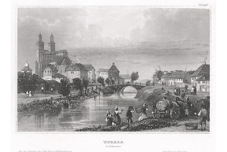 Upsala, Meyer, oceloryt, 1850