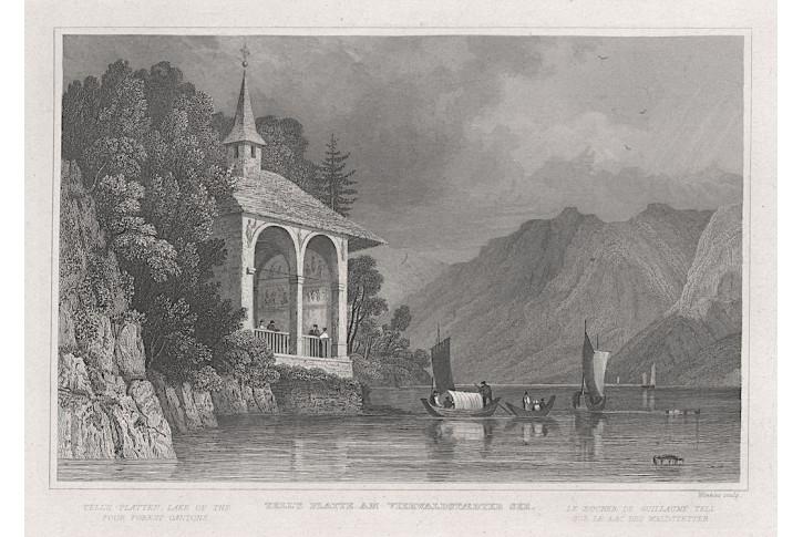 Tells Plate, Zschoke, oceloryt, 1838