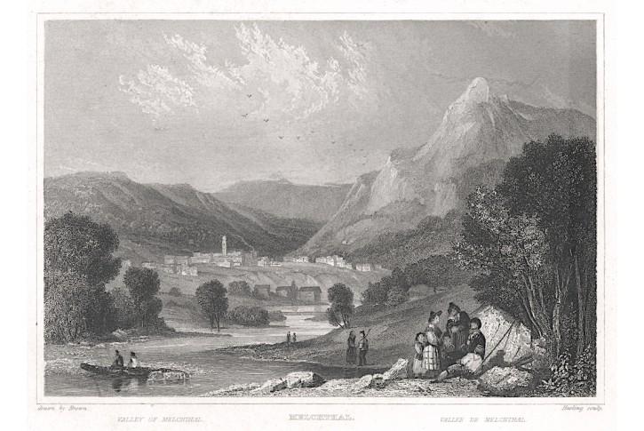 Melchthal, Zschoke, oceloryt, 1838