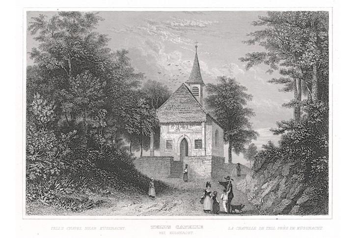 TellsCapelle, Zschoke, oceloryt, 1838