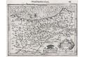 Biscaia, Mercator - Hondius, mědiryt, 1608