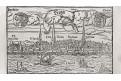 Riga,  Münster, dřevořez, 16. stol.