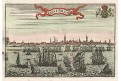 Amsterdam, kolor. mědiryt, (18 stol.)