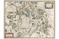 Lorraine, Mercator - Hondius, mědiryt, (1640)