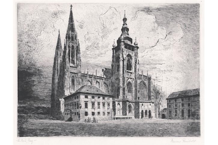 Praha Sv. Vít, Reinhold, lept, (1940)