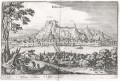 Dinant, Merian,  mědiryt,  1647