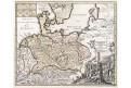 Weigel : Germania Čechy, kolor. mědiryt, 1718
