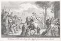Vilém Tell a sestřelené jablko,  mědiryt (1810)