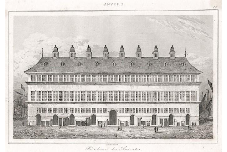 Antwerpen Anseales, Le Bas, oceloryt (1840)