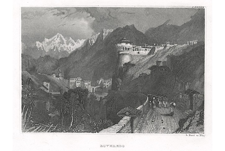 Roveredo, Meyer, oceloryt, 1850