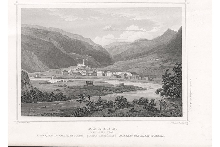 Andeer, Rohbock, oceloryt 1860