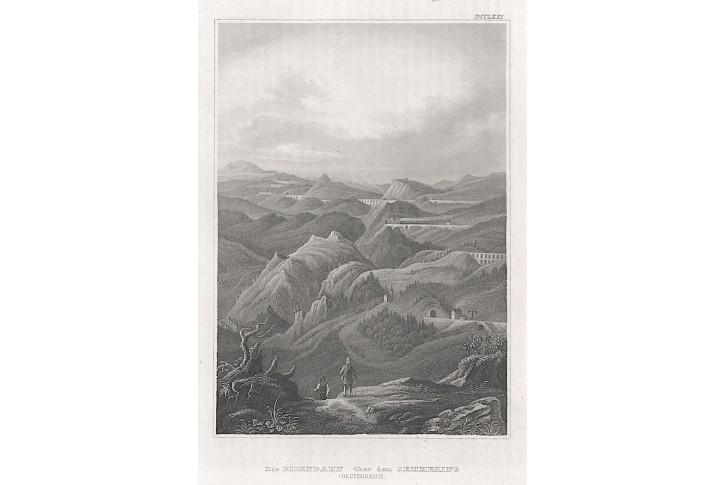 Semmering, Meyer, oceloryt, 1850