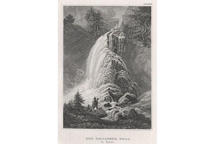 Dollinger Fall, Meyer, oceloryt, 1850