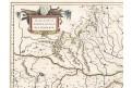 Blaeu G. : Walachia, kolor. mědiryt, (1640)