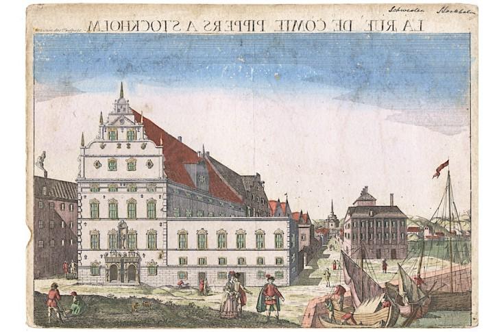 Stockholm , kolor. mědiryt, (1780)