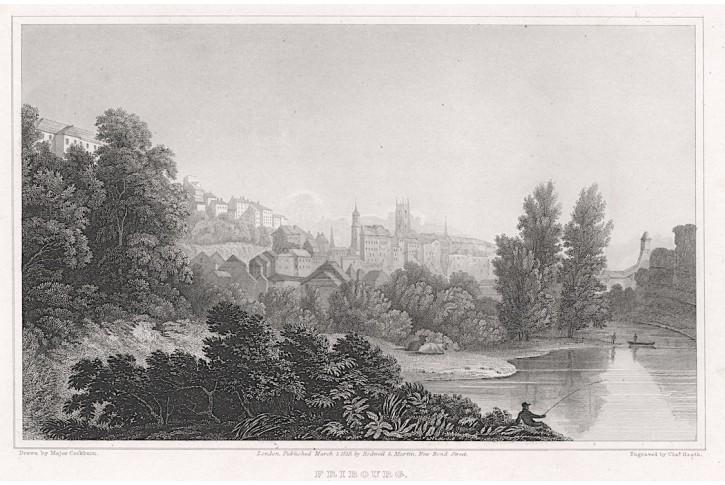 Fribourg, Rodwel, oceloryt, 1812