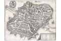 Nürnberg, Merian, mědiryt, 1642