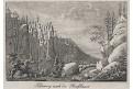 Szczeliniec Wielki Velká Hejšovina, mědiryt, 1810