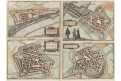 Charlemont Beaumont, Braun H.., kol.. mědiryt 1588