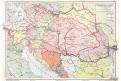 Rakousko - Uhersko, chromolitografie . 1914
