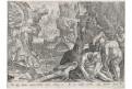 Stradanus - Galle : lov kamzíci, mědiryt, 1578