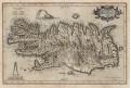 Mercator , Islandia, mědiryt, (1600)