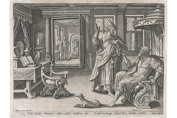 Jeremiáš 3, Voss , mědiryt, 1610