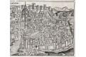 Praha, H. Schedel, dřevořez 1493