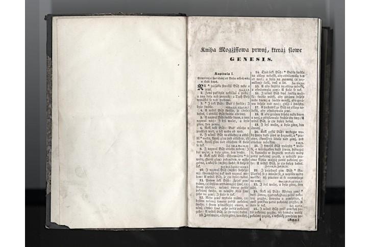 Biblia Sacra - Bibli Swatá aneb.., Kysek 1851