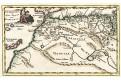 Cluver Ph. : Afrika severní , mědiryt, 1711