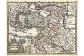 Imperium Turcicum, Weigel, kolor. mědiryt, 1718