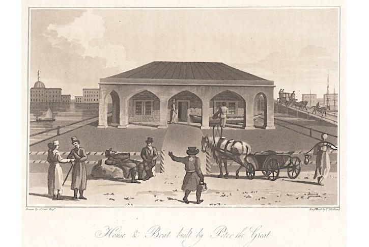 Petrohrad, Carr, akvatinta, 1804