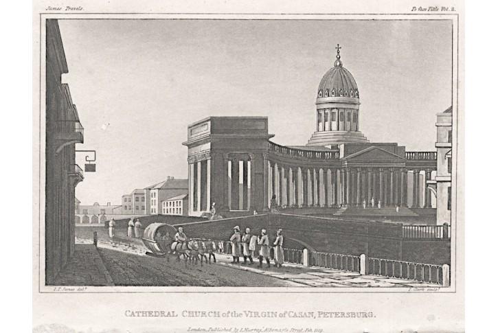 Petrohrad Kasan, Murray, akvatinta, 1819