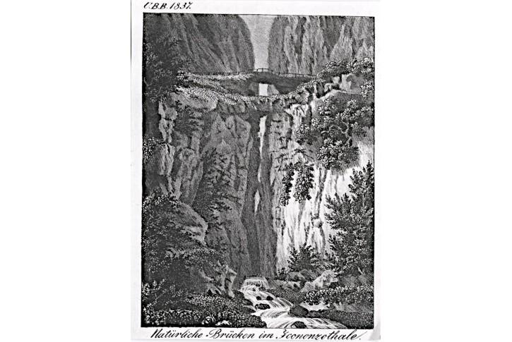 Icononzo, litografie, (1860)