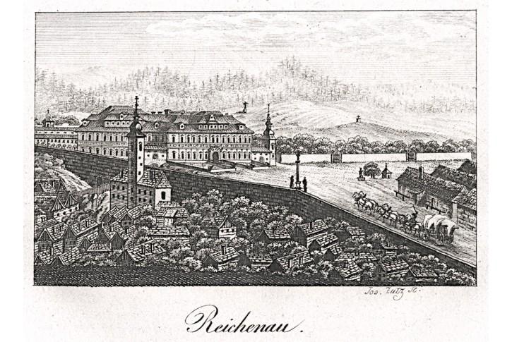 Rychnov nad Kněžnou, Gerle, mědiryt, 1823