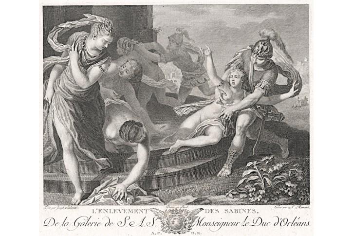 únos Sabinek, lept , 1786