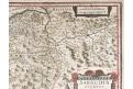 Mercator - Hondius, Savojsko, mědiryt, (1640)