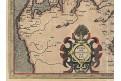 Mercator , Jutiae - Dánsko, mědiryt, (1600)