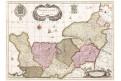 Valk - Schenk P.: Normandia, kolor. mědiryt, 1757