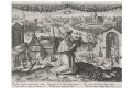 Stradanus - Sadeler : Pietas, mědiryt, 1597